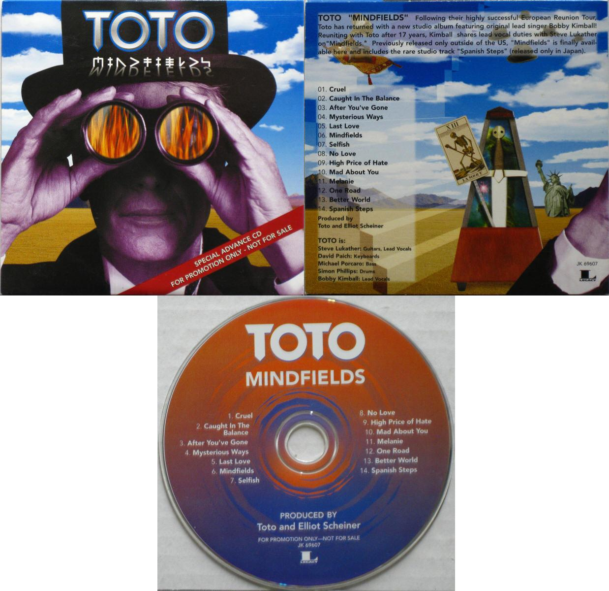 Toto Mindfields Records, LPs, Vinyl and CDs - MusicStack