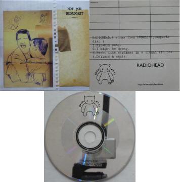 Radiohead -  vinyl records and cds