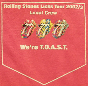 Licks World Tour 2002