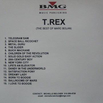 The Best Of T Rex